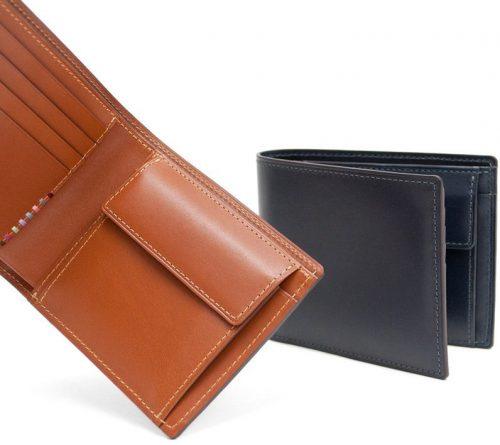 50代のお父さんへのプレゼントにおすすめ<br>上品で長く使える大人のカーフレザー財布