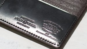 いつかは【コードバン】!<br>育てるレザー長財布