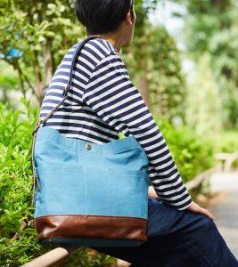 ホットな夏を爽やかに楽しむ!ブルーカラーバッグ
