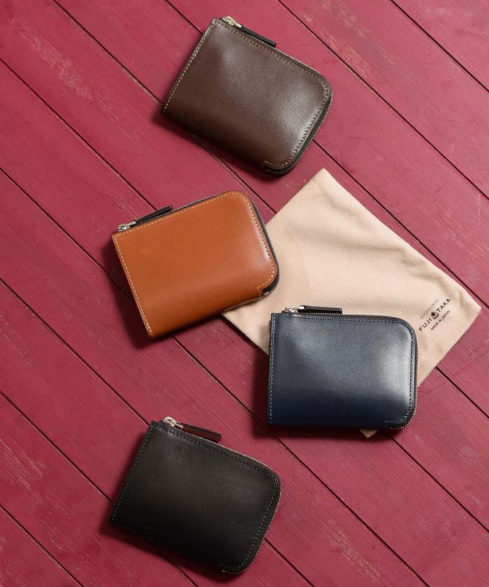 ボックスカーフ財布